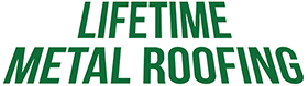 Lifetime Metal Roofing logo